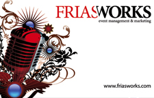 Frias Works Business Card
